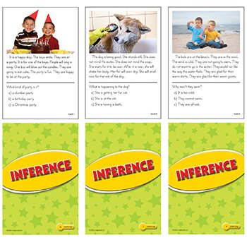 Inference Practice Cards Yellow Level - 1