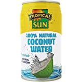 Tropical Sun 100% Natural Coconut Water 330 ml (Pack of 12)