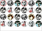 24 Dirty Dancing Edible Wafer Paper Cup Cake Toppers
