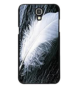 ColourCraft Lovely Feather Design Back Case Cover for SAMSUNG GALAXY MEGA 2