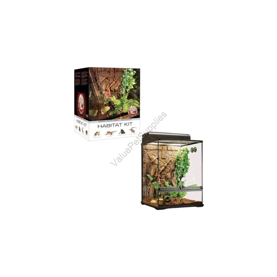 Exo Terra Maya Habitat Reptile Terrarium Starter Kit On Popscreen