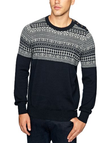 Henri Lloyd Clove Crew Knit Men's Jumper Navy XX-Large