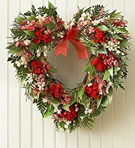 1-800-Flowers - Preserved Sympathy Heart Wreath - 16