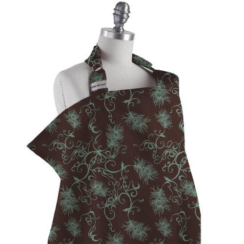 Bebe Au Lait Nursing Cover, Mint Chocolate