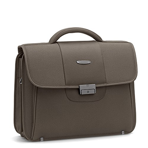 Cartella Porta Documenti con Porta PC 15.6 Roncato Easy Office Colore Fossil 3 Soffietti