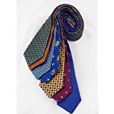 7Piece 100% Pure Silk Ties. Made in England. (226D)RRP£139.99