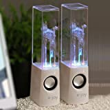 e-joy Dancing Water Speaker (White)