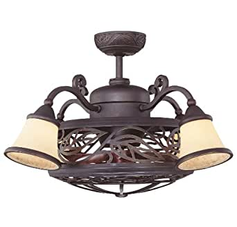 Aurora Lighting Antique Copper Finished Chandelier Style