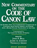 New Commentary on the Code of Canon Law: Study Edition (0809140667) by John P. Beal