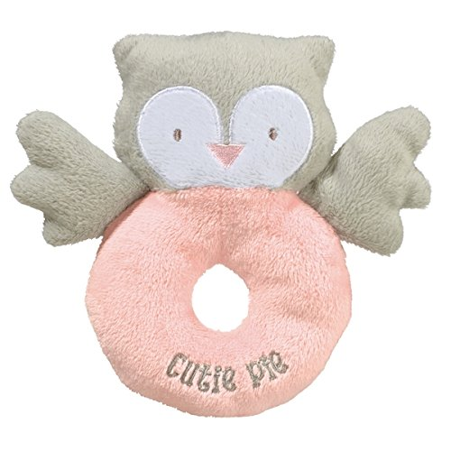 Grasslands Road Fabric Rattle Pink Cutie Pie