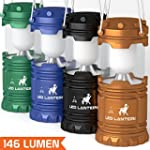 [4 Pack] LED Camping Lantern Flashlig...