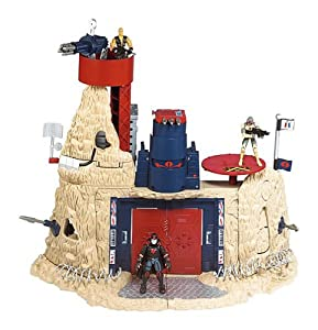 """G.I. Joe: Conquest of Cobra Mountain Playset with 3-3/4"""" Shipwreck Figure"""