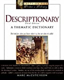 Descriptionary: A Thematic Dictionary (0816059268) by McCutcheon, Marc
