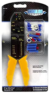 Electric Terminal Kit W/Crimper