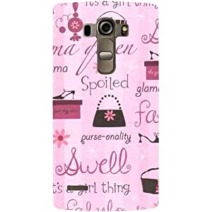 Casotec Its A Girl Thing Design Hard Back Case Cover for LG G4 Stylus
