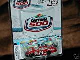 2009 Tony Stewart #14 Office Depot Old Spice Black Roof Chevy Impala SS 1/64 Scale Car & Daytona 500 51st Running Commemorative 1/24 Scale Magnet Hood Winners Circle