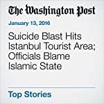 Suicide Blast Hits Istanbul Tourist Area; Officials Blame Islamic State | Erin Cunningham,Brian Murphy