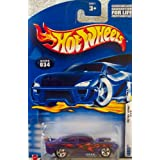 Hot Wheels Mattel Hot Wheels 2002 Scale First Editions Blue Nissan Skyline Die Cast Car 1:64 (#019)