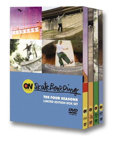 ON Video Skateboarding - The Four Seasons Limited Edition Box Set