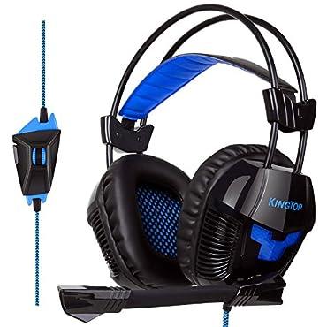ゲーミングヘッドセット PS4 KINGTOP ヘッドホン K11