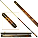 Trademark Games Fantasy Dragon Billiard Pool Cue With Case, 20-Ounce