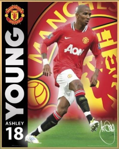 football-mini-poster-et-cadre-plastique-manchester-united-young-11-12-50-x-40cm