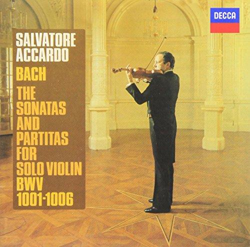バッハ:無伴奏ヴァイオリンのためのソナタ&パルティータ 全曲
