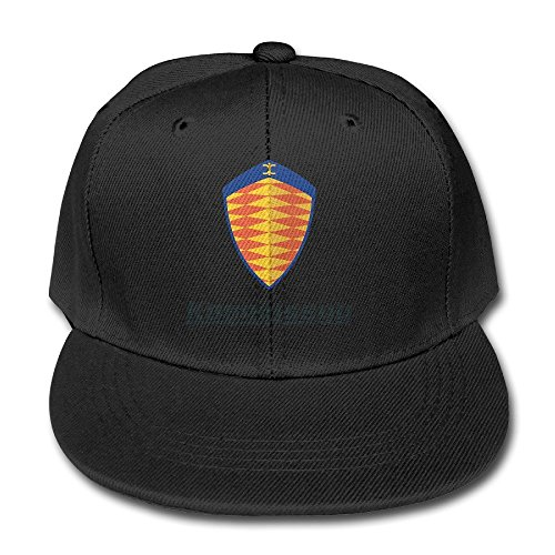feruch-tanxj-kids-koenigsegg-logo-adjustable-duck-tongue-hat-peaked-baseball-hat-cap-black