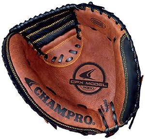 Buy Champro FR Catcher Mitt (Black Tan, 33.5-Inch) by Champro