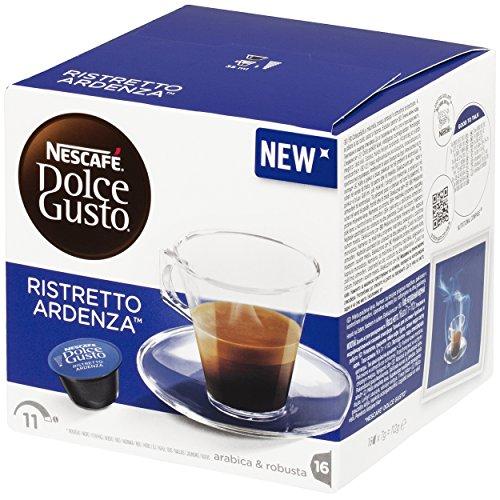 Find Nescafé Dolce Gusto Espresso Ristretto Ardenza, Strong, 16 Coffee Capsules / Servings - Nestlé
