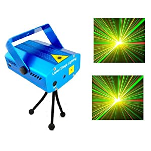 Mini Disco Laser Licht R & G Beleuchtung B¨¹hne Showlaser DJ Bar Party Lighting DHL