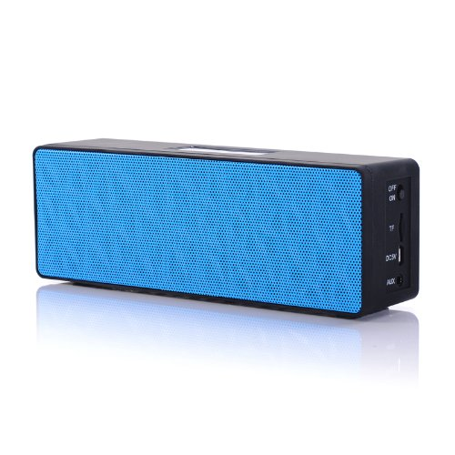 [New Release] Lu2000 Cubic Water Box Ultra-Portable Wireless Bluetooth Speaker With Tf Card Playing,Powerful Sound With Ehanced Base, One Touch Switch. Works For Iphone, Ipad Mini, Ipad 4/3/2, Itouch, Blackberry, Nexus, Samsung And Other Smart Phones And