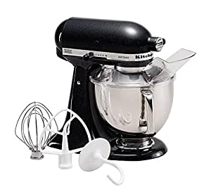 KitchenAid KSM150PSCV Artisan Series 5-Qt. Stand Mixer with Pouring Shield - Caviar
