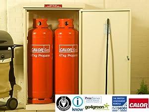 Medium Gas Bottle Storage (Dark Green)
