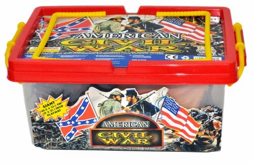 Buy Low Price Hingfat Civil War Army action figure Playset with Over 100 Pieces and Playmat in Collector's Carrying Case (B003B111MQ)