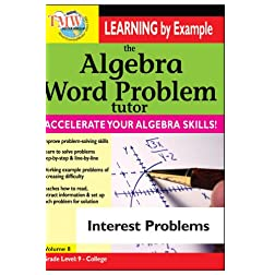Algebra Word Problem: Interest Problems