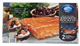 Copper River Wild Alaskan Smoked Sockeye Salmon Fillet 12 Oz x 2 (Net Wt. 24 oz)