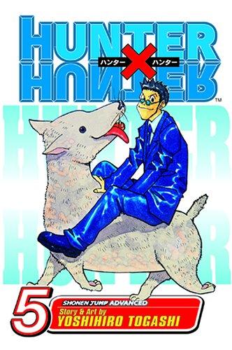 HUNTER×HUNTER ハンターハンター コミック5巻 (英語版)