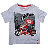Spiderman T-Shirt 2015 Kollektion 92 98 104 110 116 122 128 Shirt Kurz Jungen Sommer Neu Marvel Ultimate Amazing Grau