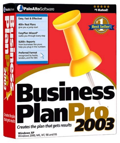 Business Plan Pro 2003