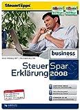 Steuer-Spar-Erklärung 2008 Business Edition