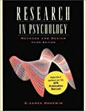 Research In Psychology: Methods and Design (Update), Third Edition