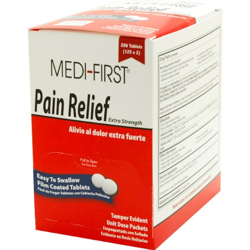 Buy Medifirst Pain Relief Tablets 125x2B0006GBEYE Filter