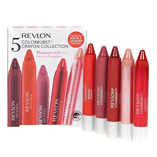 revlon-5-x-colorburst-crayon-collection-lipbalm-lip-stain-chubby-stick-gift-set