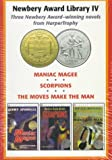 img - for Newbery Award Library IV: Maniac Magee, Scorpions and the Moves Make the Man book / textbook / text book