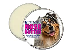 The Blissful Dog Austrailian Shepherd Nose Butter, 2-Ounce