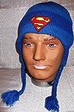 Superman Logo Blue Headphone Laplander Hat