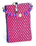Ethnics Women's Mobile Pouch (Pink) (ETM021)