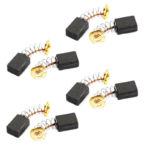 "Replacement 1/2"" X 11/32"" X 1/4"" Dc Electric Motor Carbon Brushes 8Pcs"
