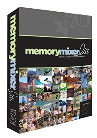 MemoryMixer 3 Lite Digital Scrapbooking Software